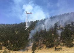 DNR firefighters help fight wildland blazes out west