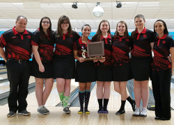 Girls bowling OK-White Conference Champs