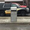 City installs drive up payment box
