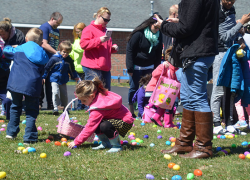 Families flock to Easter Eggtravaganza