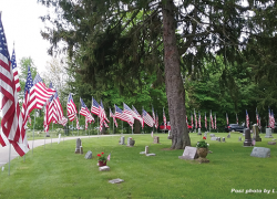 Old Glory and the Avenue of Flags