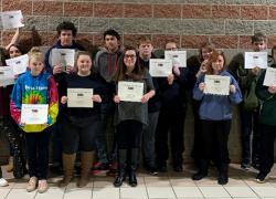 2019-2020 New Beginnings Alternative High School Quarter One Awards