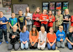 Red Hawk Students of the month – Responsibility