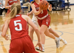 Lady Red Hawk basketball heads into break with 5-1 Record