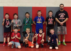 Youth grapplers have solid showing at Orchard View