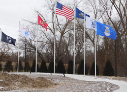 New addition to Veteran's Park