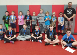CSY wrestlers travel to Spartan country