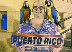 Post travels to Puerto Rico