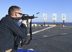 Sparta man in live fire training exercise