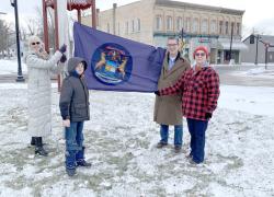 New state flag installed
