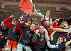 Varsity Wrestlers top Greenville for fourth  consecutive year