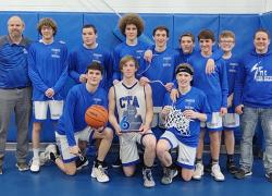 Boys Varsity Basketball Finishes on Top