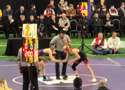 Marsman finishes second at state