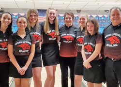Girls bowling finishes sixth in state
