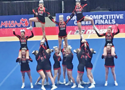 Cheer takes 7th at state finals