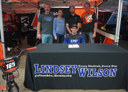Salisbury signs with Lindsey Wilson College
