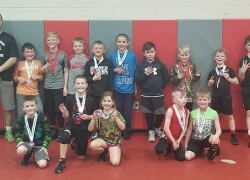 Youth grapplers 4th in state and medal at Hudsonville