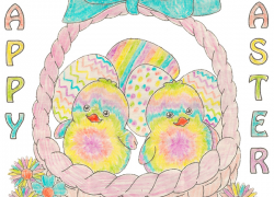 2020 Easter Coloring Contest winners