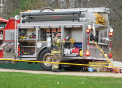 House explodes in Spencer Township