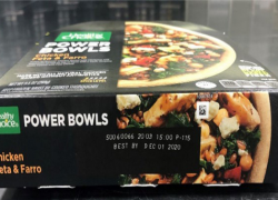 Recall: Healthy Choice chicken and turkey bowl products