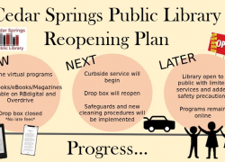 Kent District Library Launches Curbside Pickup and Announces Reopening