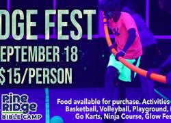 Ridgefest at Pine Ridge Bible Camp