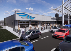 Ford Airport breaks ground on phase I of federal inspection station