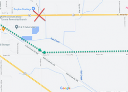 Road closure through early October