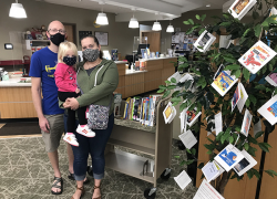 The Wishing Tree raises funds for library