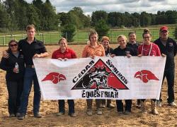 Equestrian team clinches championship