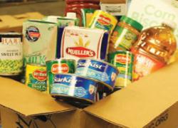 Help stock the Cedar Springs food pantry