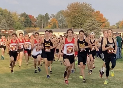 Red Hawk boys running strong