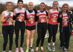 Two cross country girls qualify for regionals