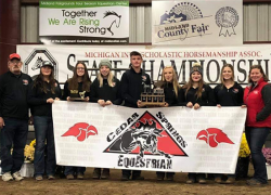 Cedar Springs equestrian division B reserve champions