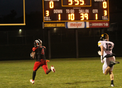 Red Hawks roll over Knights 36-6