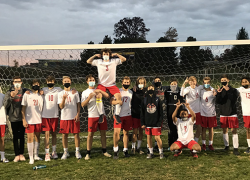 Red Hawk boys soccer wins first round of district play