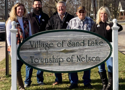 New Sand Lake Council members sworn in
