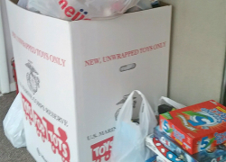 Toys for Tots collection a big success