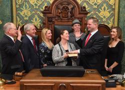 Rep. Posthumus sworn in for first term as State Representative