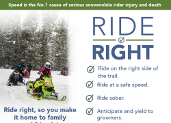 Snowmobiler involved in crash dies at hospital