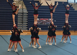 Cheer teams make up lost ground