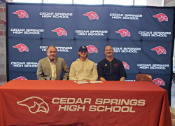 Bryce Marvel signs with Olney Central College