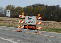 Northland Drive closed for road work