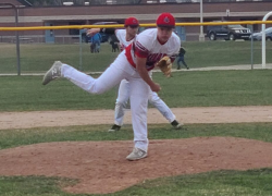 Varsity baseball takes wins over Lowell, Comstock Park