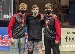 Wrestlers compete at Van Andel Arena