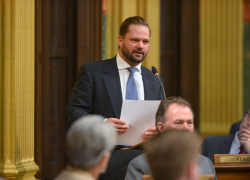 State Rep. Posthumus issues apology after crash/OWI arrest