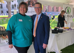 Alpha Family Center showcased services at Capitol