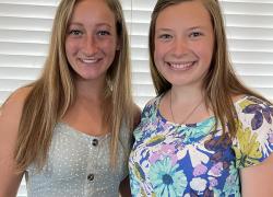 Cedar Springs Women's Club Scholarship Recipients