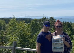 The Post travels to Mackinac