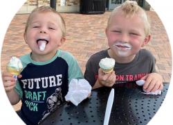 Celebrate ice cream month!